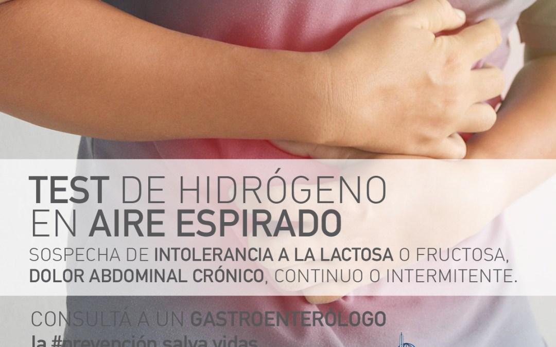 TEST DE HIDRÓGENO EN AIRE ESPIRADO (SOBRECRECIMIENTO BACTERIANO / INTOLERANCIAS)