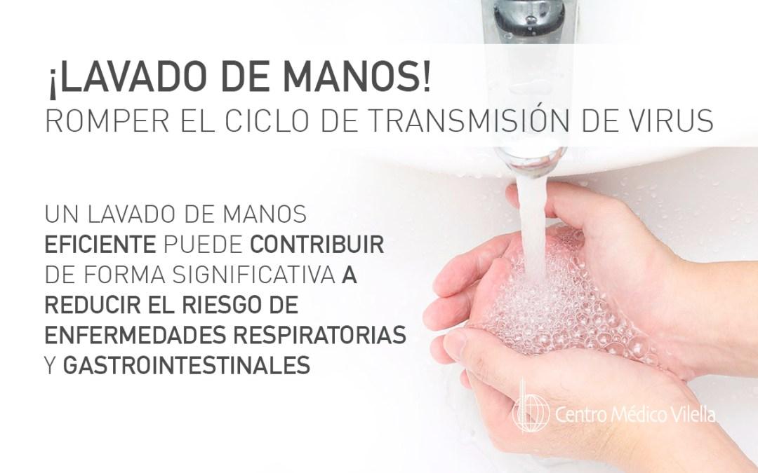 Adecuada higiene de manos
