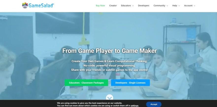 game salad best game development software