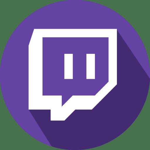 Twitch Live Stream Logo