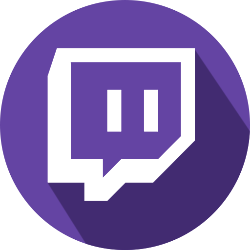Twitch Live Stream Logo