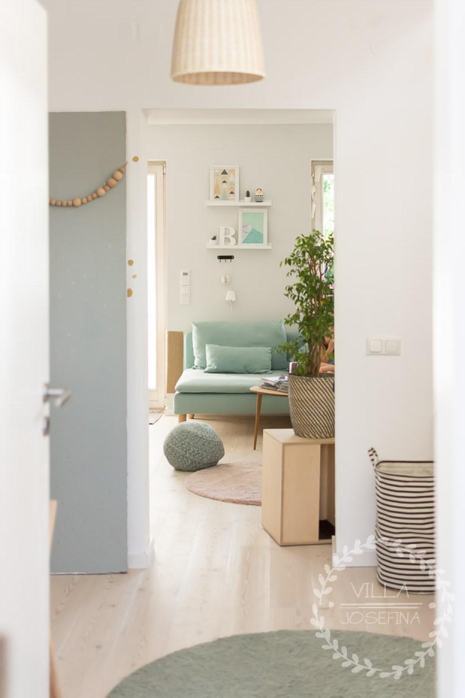 Umbau Reihenhaus Teil II - Wohnzimmer Update | Villa Josefina