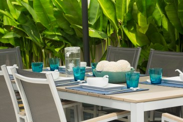 Outdoor table for 8 persons