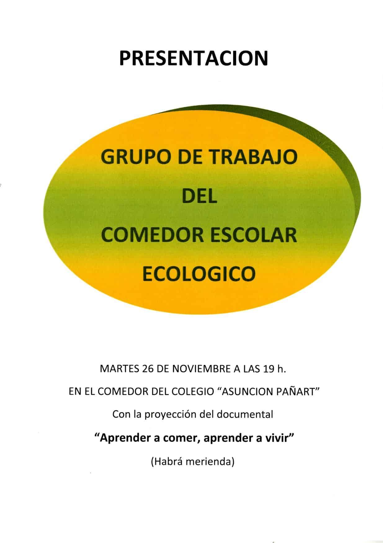 Comedor Escolar Ecológico / Grupo de trabajo - Aínsa Sobrarbe