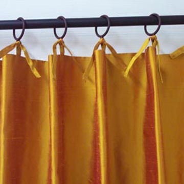tie top drapes are a versatile and