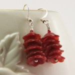 Image of Flower Earrings by Denise Hershey