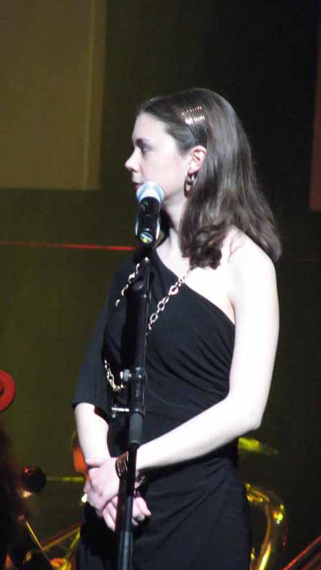 Soloist Laura Intravia