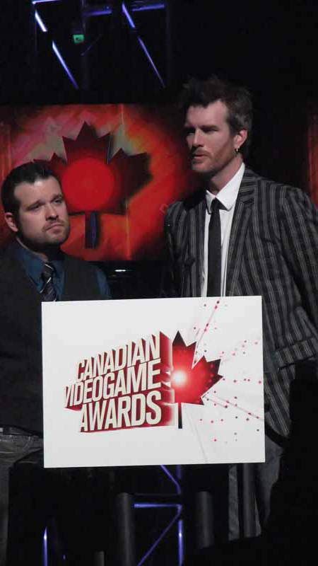 Presenting the Award for Best Writing