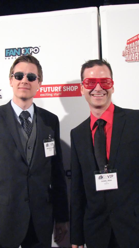 Brayden Olson and Daniel Irish from Novel Inc.