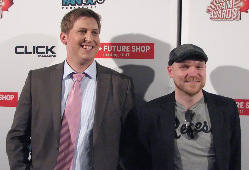Ty Bader and Ryan Holowaty