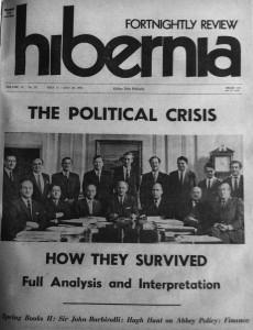 Hibernia 1971: another political crisis