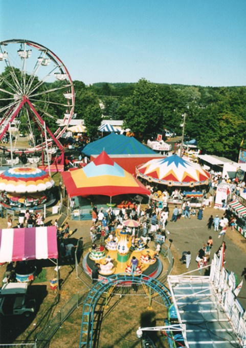 Columbia County Fair, Chatham, NY - midway