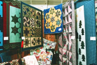 Columbia County Fair, Chatham, NY - quilt show