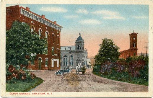 1917 - Depot Square, Chatham, NY