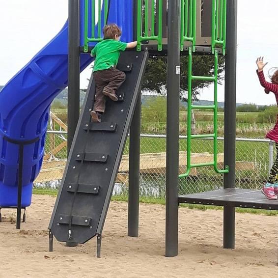 Playground on Steeves Street.