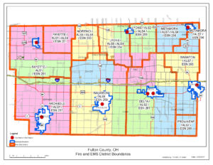 Fire and EMS map