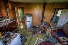 Sinking farm house-2