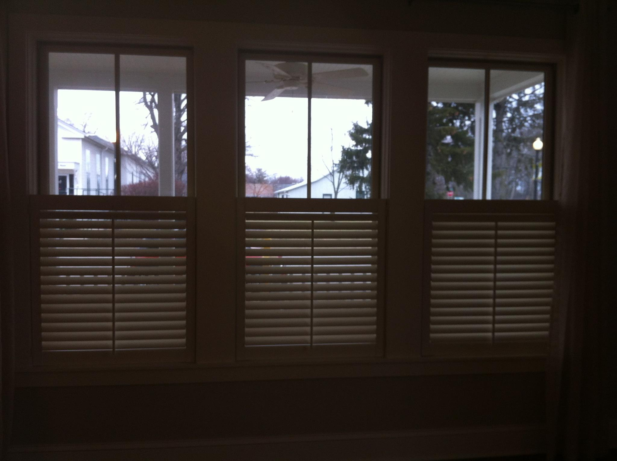 1 2 Shutters Or Cafe Style Are Becoming Really Popular