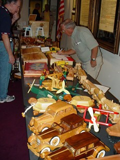 2007 Toys Sale Tables