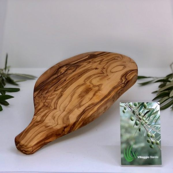 Olive Wood Garlic Board
