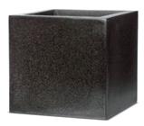 Cube Planter Black