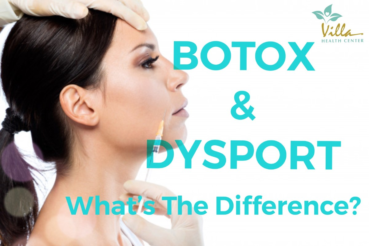 Botox & Dysport … What Are They & What Are The Differences ??