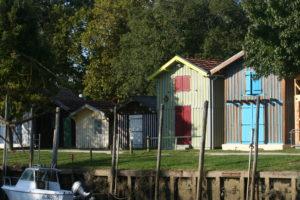 Cabanes du port de Biganos