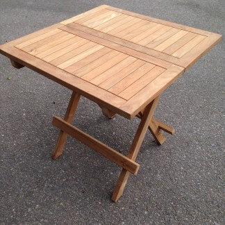 Teak Square Picnic Table