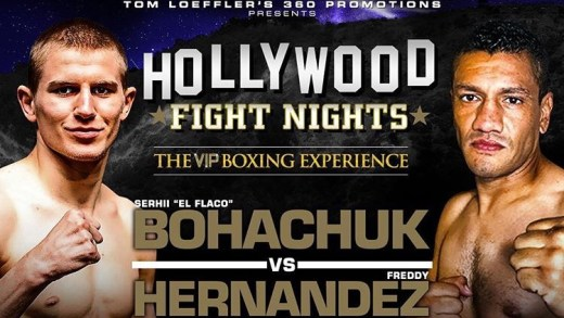 SUPER MIDDLEWEIGHT TITLE FIGHT ADDED TO HOLLYWOOD FIGHT NIGHTS ON SUNDAY, MAY 19 AT THE AVALON