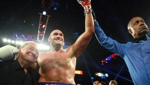 Tyson Fury Knocks Out Tom Schwarz in 2 Rounds