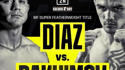 Joseph Diaz Jr. to make first title defense of his IBF 130lbs championship on February 13th