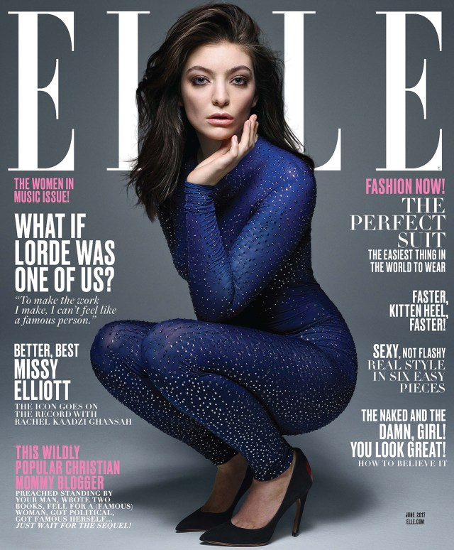 Lorde On Ellle Magazine