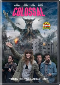 Colossal, Anne Hathaway, DVD,