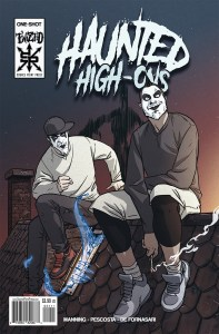 Comic Books 2017, Twiztid, Haunted High-Ons, Source Point Press
