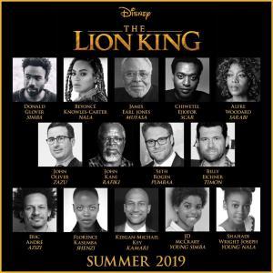 Lion King cast, Disney