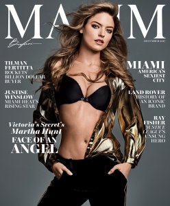 Martha Hunt Maxim, December