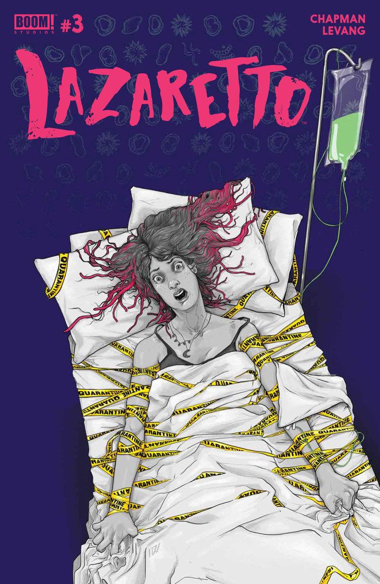 Lazaretto #3, BOOM! Studios