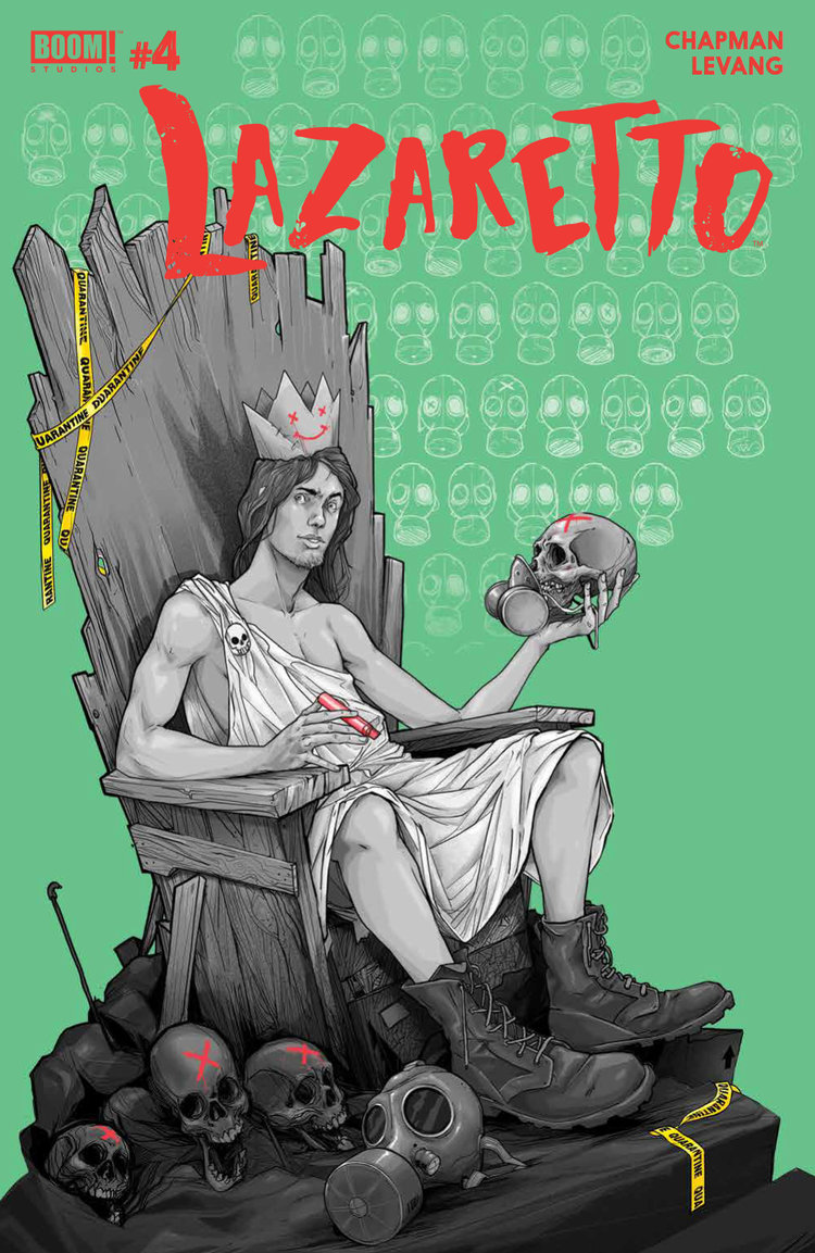 Comic Books 2017, Lazaretto #4, BOOM! Studios
