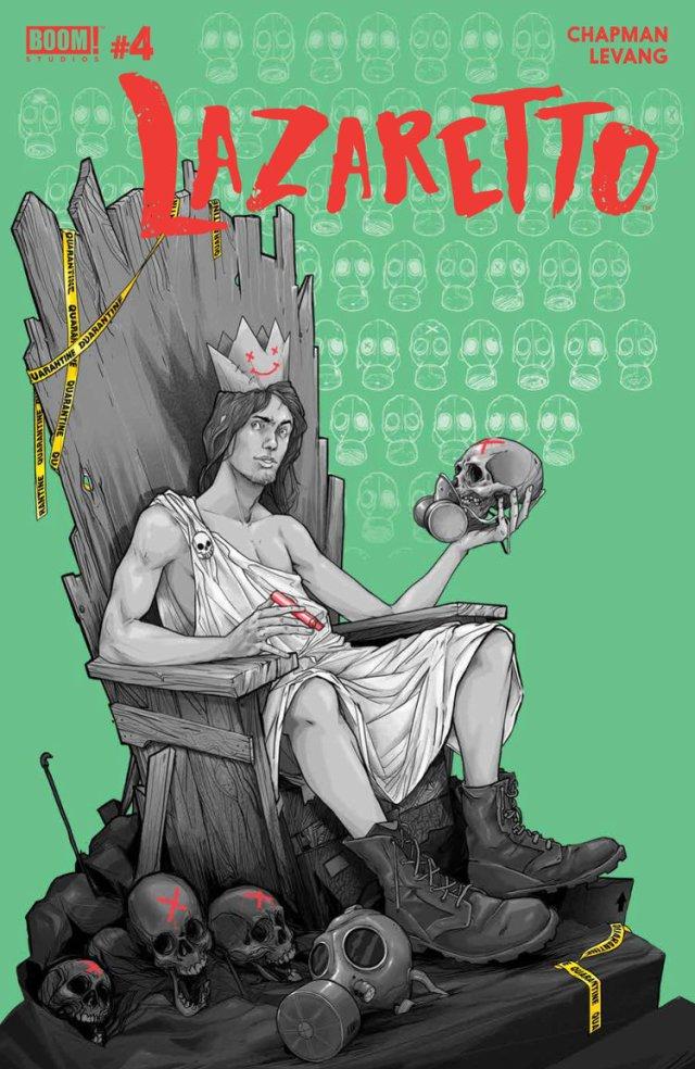 Comic Books 2017, Lazaretto #4, BOOM! Studios