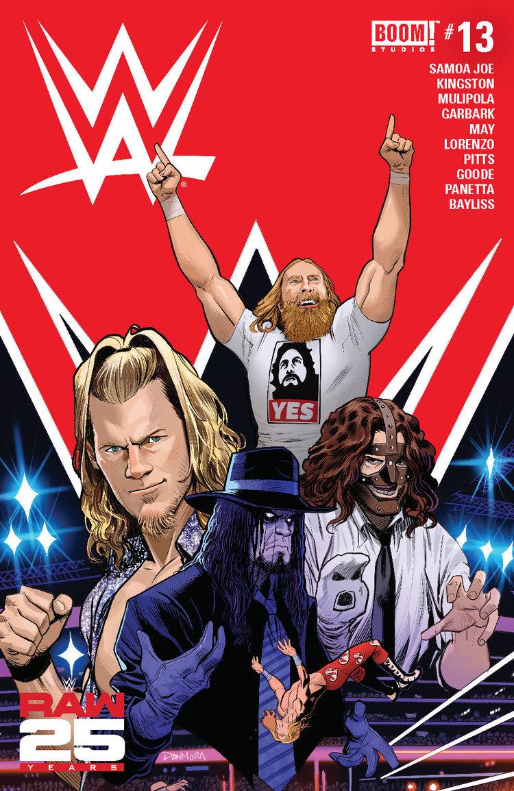 WWE #13. BOOM! Studios