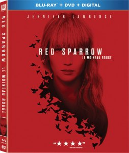 Red Sparrow DVD, Jennifer Lawrence