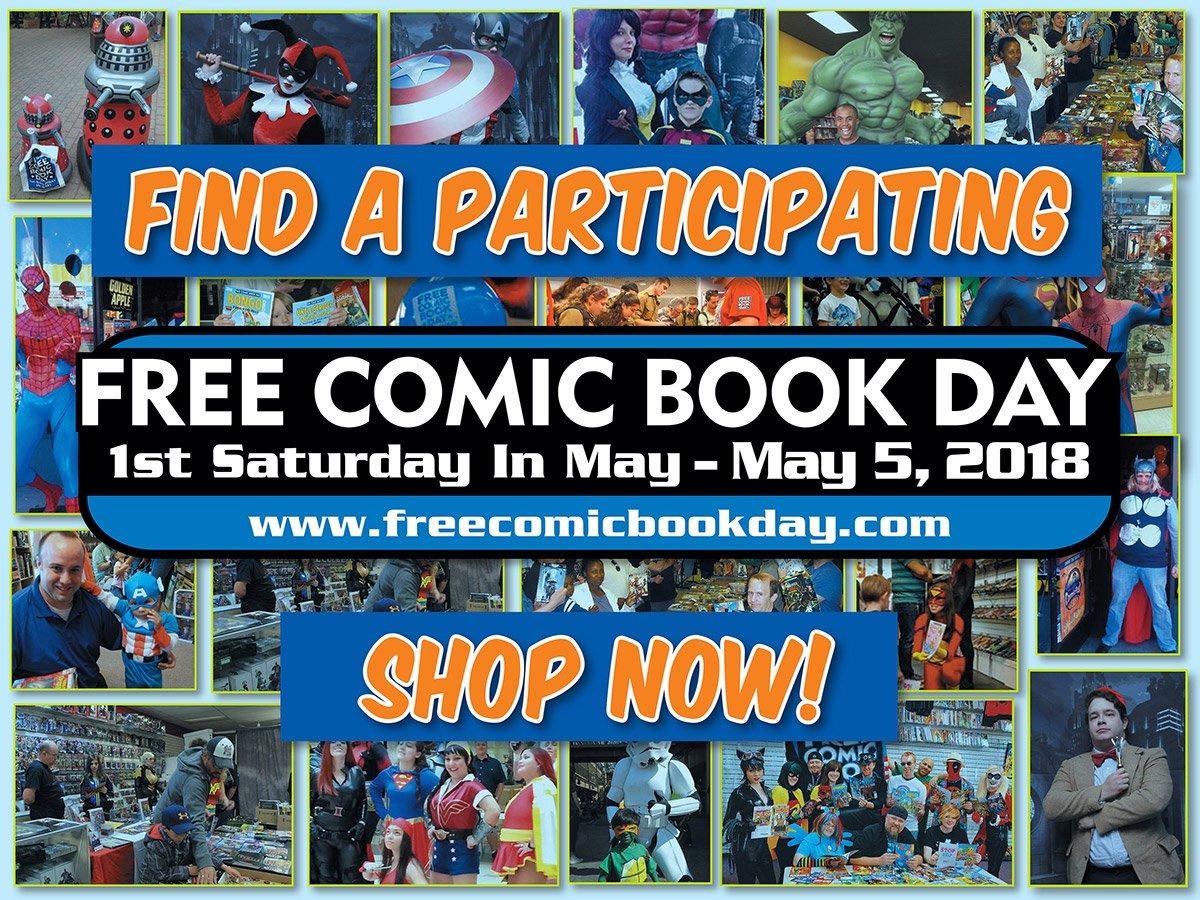 Free Comic Book Day 2018, FCBD