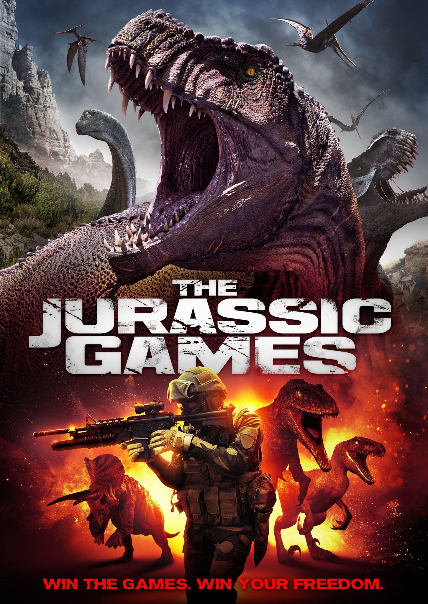 Jurassic Games DVD, Actress Katie Burgess, Jurassic Games