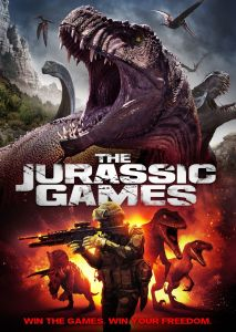 Jurassic Games DVD, Actress Katie Burgess, Jurassic Games