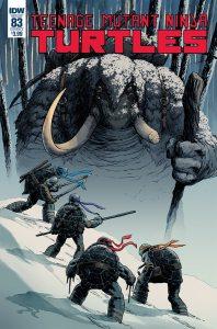 Teenage Mutant Ninja Turtles #83, IDW Publishing