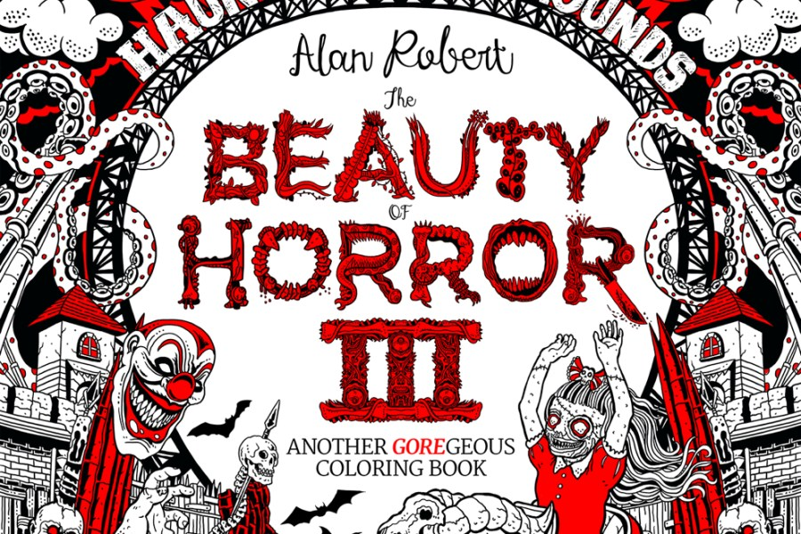 Interview: Alan Robert Talks 'The Beauty Of Horror 3: Haunted Playgrounds' (IDW Publishing)!