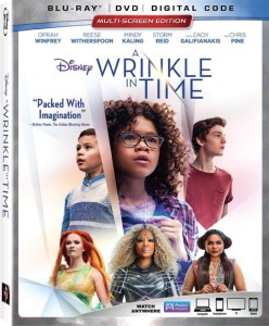 Wrinkle In Time DVD, Ava DuVernay