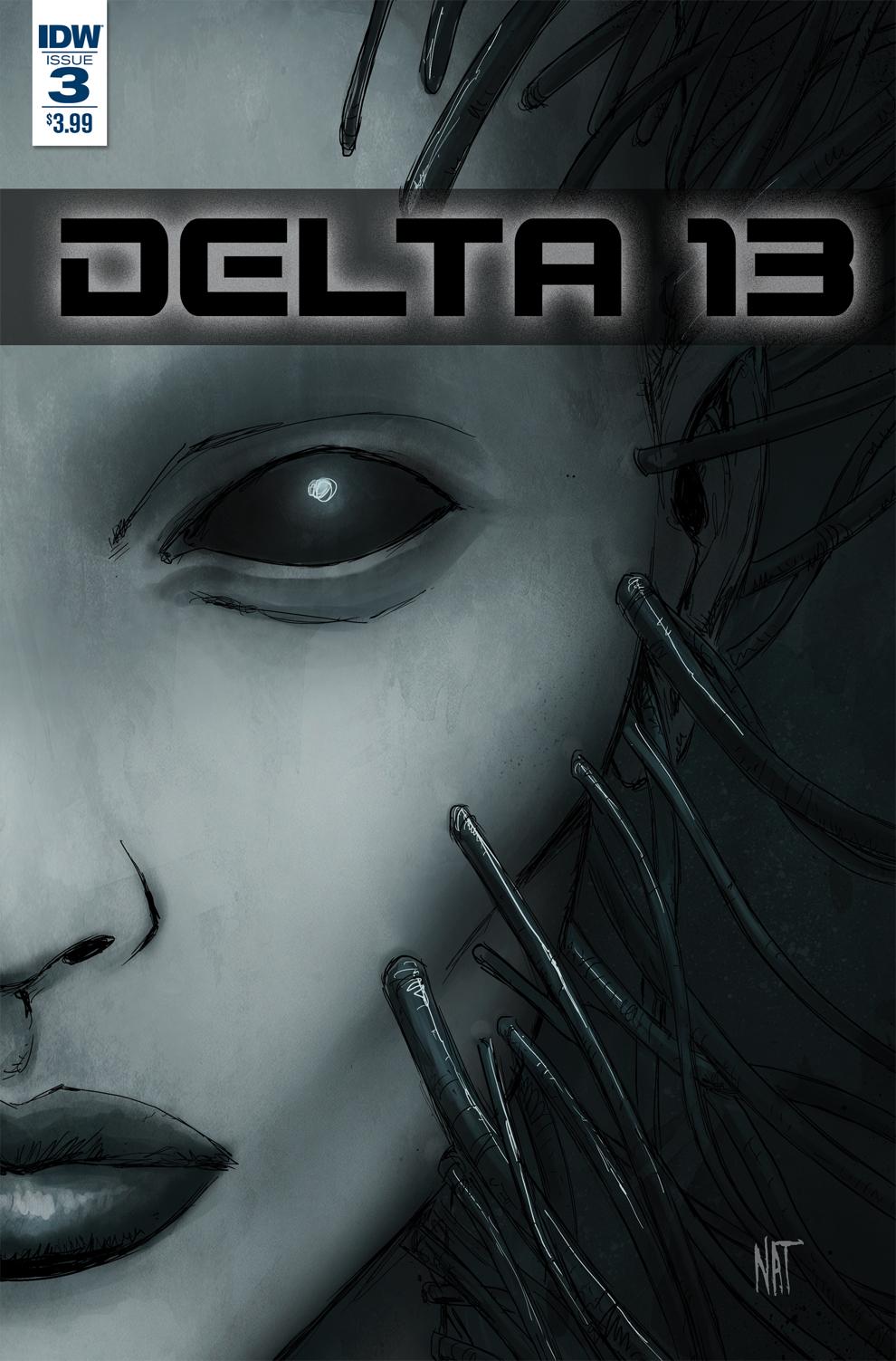 Delta 13 #3, IDW Publishing