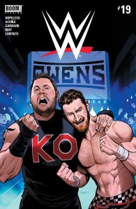 WWE #19, BOOM! Studios