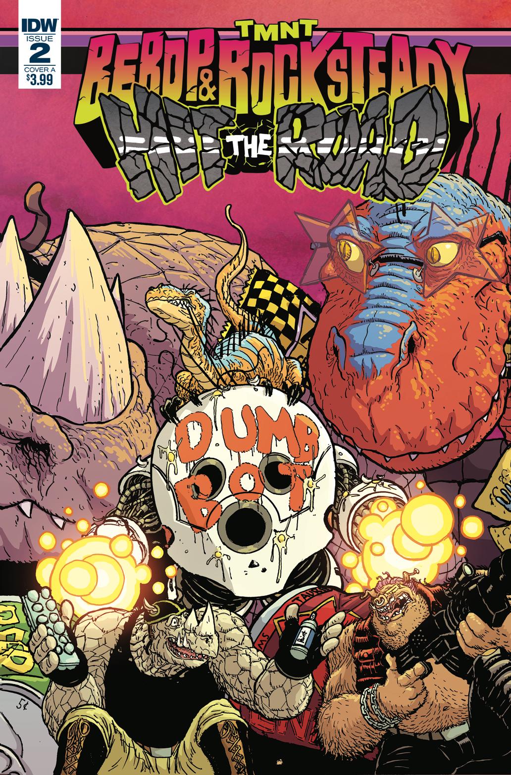 TMNT: Bebop & Rocksteady #2. IDW Publishing